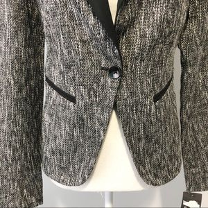 Mossimo Supply Co. Jackets & Coats - Mossimo Gray tweed blazer size 6
